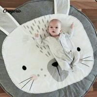 Matras / Karpet Lantai Motif Kelinci untuk Bayi Merangkak