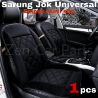 Sarung Jok Mobil Universal Cover Alas Jok Depan Empuk Sandaran Kursi