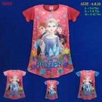 (DC03) Daster Anak Frozen Beautiful Dream (Usia 5-10 Tahun)