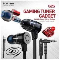 New Upgrade Plextone G25 Bullet Headset Gaming Earphone Top Build