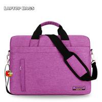 Tas Laptop Selempang / Hand Bag Anti Air Remoid 13 Inch - Merah Muda