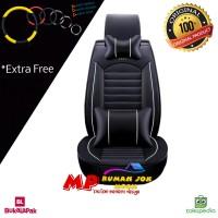 Sarung Jok Mobil APN Leather Xpander Mobilio Rush Avanza Fortuner dl
