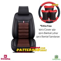 Sarung Jok Mobil APN Leather Xpander Mobilio Evalia Avanza Fortuner dl
