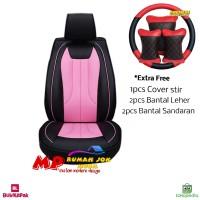 Sarung Jok Mobil APN Leather Ayla Brio Yaris Jazz Baleno Etios HRV dll