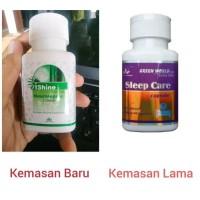 Sleep Care Capsule Green World Ori obat herbal insomnia / susah tidur