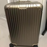 ORIGINAL RIMOWA KOPER GOLD TITANIUM M BAGASI TOPAS LVMH