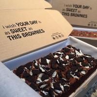 Brownies Oreo