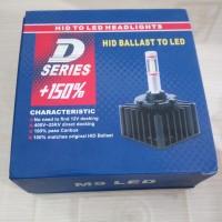 LED 1 Set Bohlam/Bulb Headlights/Lampu Utama Pengganti Bohlam HID D2R