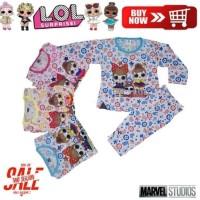 Baju Tidur Anak Setelan LOL & Hello Kitty Baju Anak Setelan 5bln - 3th