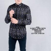 Baju Kemeja Batik Pria Baju Batik Songket Cowok Kemeja Santai