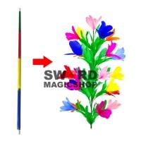 Alat Sulap Cane to Flower - tongkat Jadi Bunga - Sulap Bunga
