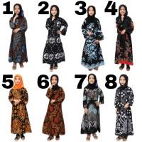 Gamis batik anak baju batik gamis anak perempuan dress anak muslimah