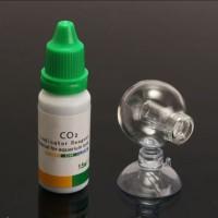 PAKET CO2 INDIKATOR INDICATOR BULAT - PAKET MONITOR CO2 GLASS AQUASCAP