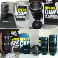 Gelas Mug Lensa Kamera Nikon Cup AF 24-70mm -Lens B271 Termos