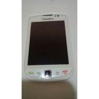 lcd touchscreen trackpad flexible blackberry bb torch 9800 white ori