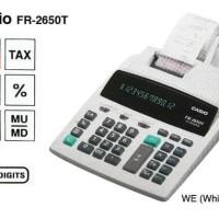 CASIO FR-2650T-WE - Kalkulator Printing Terjamin