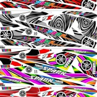 Sticker / Striping Variasi Thailook Jupiter Z & Z1 (Spark) Garansi