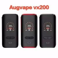 Termurah !! AUTHENTIC VX200 TC BOX MOD By AUGVAPE VX 200 W Kit Vape