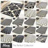 [GRATIS ONGKIR] Karpet Bulu Maroc 100X150 (Full Monochrome Series)