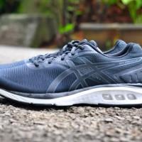 ORIGINAL Sepatu Lari ASICS GEL PROMESA BLACK MEN BNIB