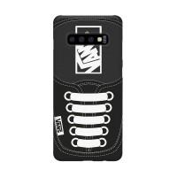 Hard Case Casing Black Vans Shoes Samsung Galaxy S10 I S10+ Plus