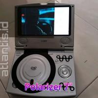 Plastik Polarize 7 inch LCD DVD portable Polarizer 7 inch