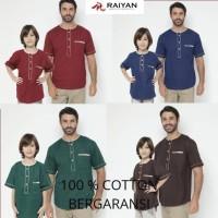 Baju Koko Pria - Baju Koko Couple Ayah Anak - Baju Koko Anak