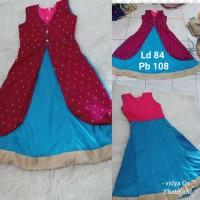 Baju Dress India Anak Perempuan
