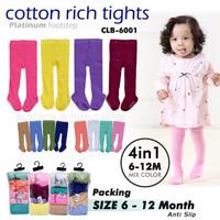 4in1 Celana Legging Bayi Polos Kaki Tutup Celana Panjang Bayi CLB-6001