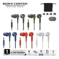 Sony MDR-XB55AP In-Ear Extra Bass Earphone Black