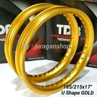 Velg TDR U Shape 185/215 x 17 GOLD