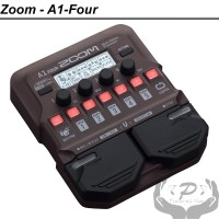 Zoom A1 Four Akustik Multi Efek A1Four Gitar Saxophone Violin