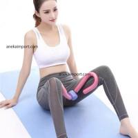 Alat Latihan Otot Paha Alat Olahraga Rumah Sit Up Bar Matras Yoga Mat