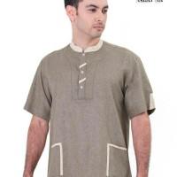 baju koko muslim pria / pakaian muslim / kemeja pria / baju koko / bus