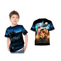 Kaos Baju Anak laki laki dan perempuan HARRY POTTER 01 Custom