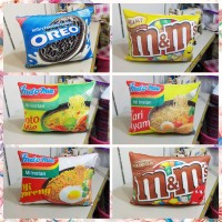 Bantal Indomie dan bantal snack