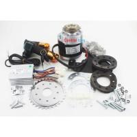 set sepeda listrik 24V 350W MY1016Z3 E-bike conversion kit