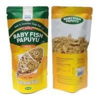 Cemilan Ikan Crispy / Baby Fish Papuyu Cheese