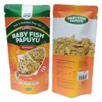 Cemilan Ikan Cripsy / Baby Fish Papuyu Barbeuque