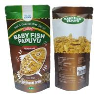 Cemilan Ikan Crispy / Baby Fish Papuyu Rendang