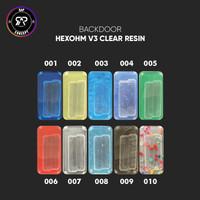 BACKDOOR RESIN HEXOHM V3 ( CLEAR ) BY RAP CONCEPT