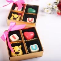 Coklat Valentine isi 4 pcs / Kado / Gift