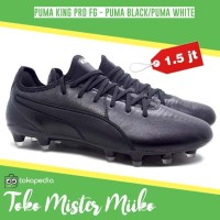 Sepatu Bola Puma King Pro FG BLACK