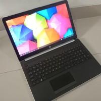 laptop hp 15 AMD A9 ram 4 hdd 1Tb desain and game mulus seperti baru