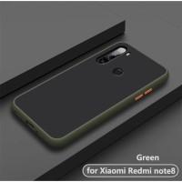 Case Matte Premium Quality Xiaomi Redmi Note 8 Bumper Aero Back Casing