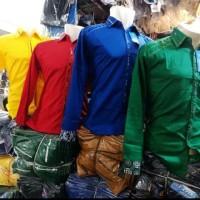 kemeja polos kaos polo baju kemeja karang taruna