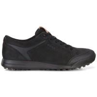 New Sepatu Golf Ecco Street Retro 2.0 Black Original