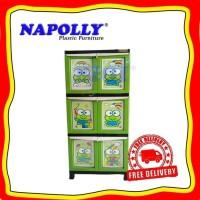 FREE ONGKIR Lemari Plastik Napolly BCBC 163 KREC
