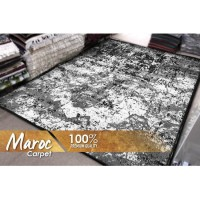 [GRATIS ONGKIR] Karpet Maroc 15 160x210 (Monochrome)