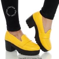 Promo SEPATU HEELS BOOTS WANITA MILANO BOOTS SOL DOCMART 7 CM -